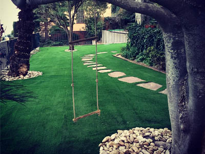 Expertos en cesped artificial para jardines gespalia - Fotos de cesped artificial ...